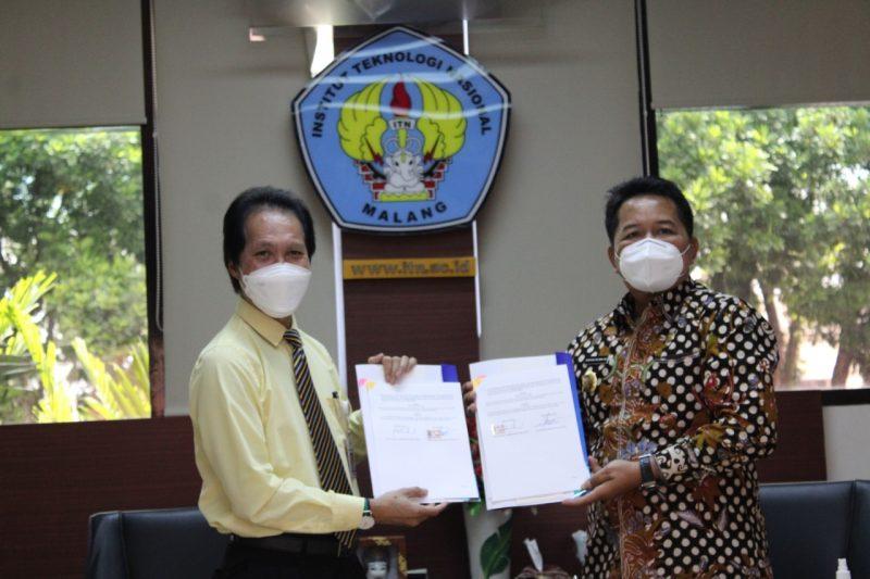 Bupati Kabupaten Mahakam Ulu Pasrahkan Pembangunan Wilayah pada ITN Malang