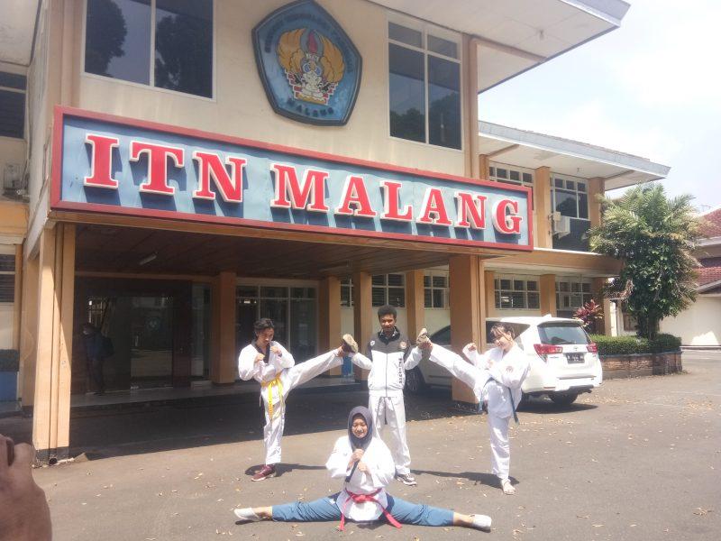 Enam Mahasiswa ITN Malang Borong Medali Taekwondo di Maluku