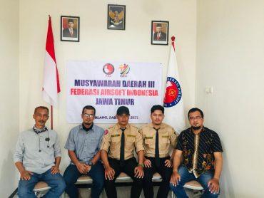 Pengurus Pengda VII Jawa Timur Federasi Airsoft Indonesia 2021-2025 Terbentuk di Malang