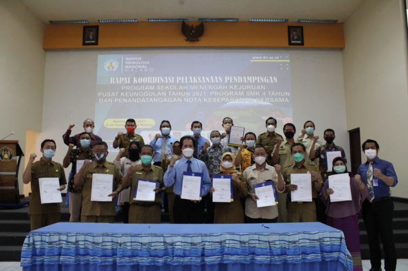 ITN Malang dipercaya sebagai Pendamping Program SMK Pusat Keunggulan Tahun 2021