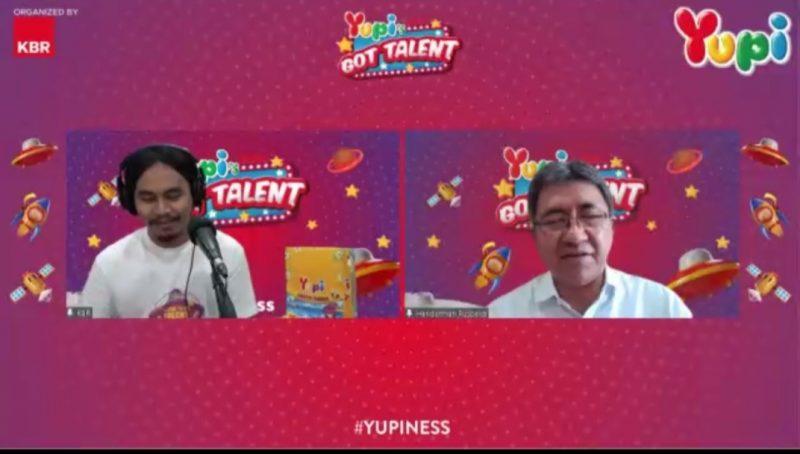 Yupi's Got Talent 2021 Sebarkan Virus Kebahagiaan