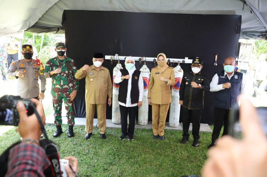 Walikota Sutiaji Apresiasi Peresmian Tempat Isi Ulang Oksigen Gratis oleh Gubernur di Bakorwil Malang