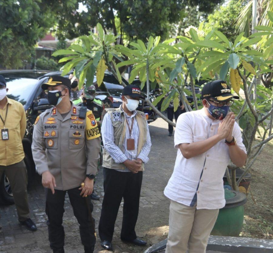 Walikota Sutiaji Sambangi Isoman di Kota Malang