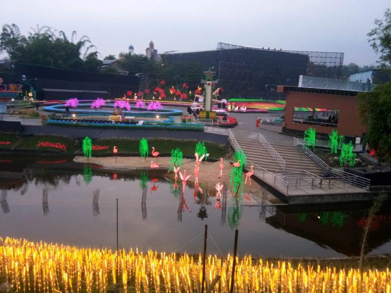Jelang Natal dan Tahun Baru Jatim Park Group Bangun 'Millenial Glow Garden'