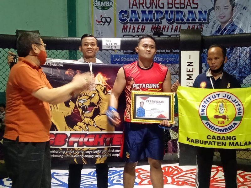 Mahasiswa ITN Malang Juara Mixed Martial Arts (MMA) 2021 di Probolinggo
