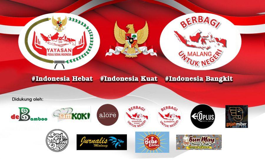Gerakan Berbagi untuk Negeri Berkunjung ke Panti Asuhan Oikos Syalom Malang